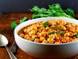 Lebanese Chickpea Stew Recipe