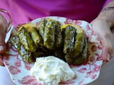 Lebanese Grape Leaf Rolls Recipe