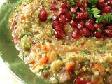 Lebanese Mtabal Eggplant Salad Recipe