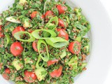 Lebanese Tabbouleh Salad with Quinoa Recipe