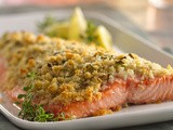 Lemon- and Parmesan-Crusted Salmon Recipe