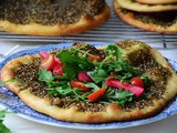 Man'oushe, za'atar flatbread recipe