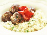 Meatballs with couscous recipe