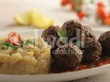 Meatballs with Smokey Eggplant Pulp Recipe