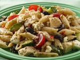 Mediterranean Chicken-Pasta Salad Recipe