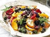 Mediterranean roast vegetables
