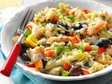 Mediterranean Shrimp Orzo Salad Recipe
