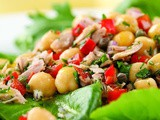 Mediterranean Tuna Antipasto Salad Recipe