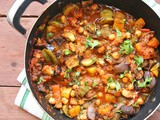 Mediterranean vegetable and chickpea stew recipe