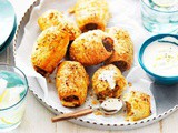 Middle Eastern beef sausage rolls recipe