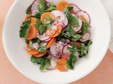 Middle Eastern carrot & radish salad recipe
