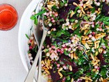 Middle Eastern-inspired beetroot and moghrabieh salad recipe