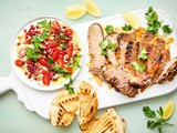 Middle eastern lamb with loaded baba ghanoush recipe