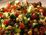 Middle Eastern Vegetable Salad Recipe