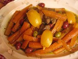 Moroccan Lamb or Beef Tagine With Carrots, Olives and Preserved Lemon Recipe