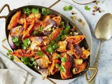 Moroccan-spiced roasted carrot and cauliflower