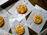 Orange Blossom Tahini Cookies Recipe