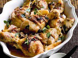 Paprika and lemon baked chicken recipe