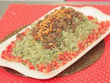 Rice with spinach recipe