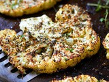 Roasted Cauliflower Steaks Recipe