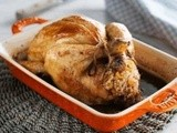 Roasted Chicken Stuffed with Harees Recipe