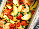 Roasted Chicken with Potatoes Recipe