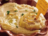 Roasted-Garlic White Bean Hummus Recipe