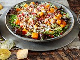 Roasted Winter Squash, Lentil and Greens Salad Recipe