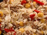 Rooz ma lahem (rice with meat) recipe