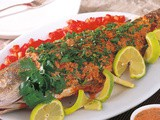 Samkeh Harrah / Spicy Baked Fish Recipe