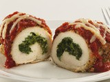 Skinny Stuffed Chicken Parmesan Recipe
