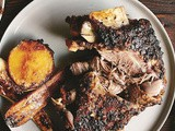Slow-roasted goat shoulder recipe