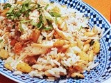 Spiced Lebanese Pine Nuts and Raisins Rice with Turkey Recipe