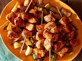 Spicy Harissa Chicken Kebabs Recipe