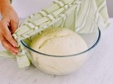 Step-by-step basic bread dough recipe