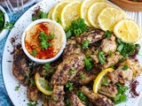 Sumac Lemon Baked Chicken Wings Recipe