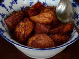 Sumac Roasted Sweet Potatoes Recipe