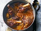 Sweet spiced lamb shanks with quince recipe