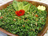 Tabbouleh (tangy parsley salad recipe)