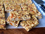 Tahini-Date Granola Bars, with Dried Apricots Recipe
