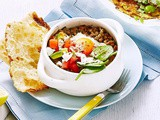 Turkish breakfast clay pots with spiced mince and eggs recipe