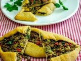 Turkish pide with ground beef recipe
