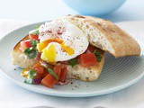Turkish toast with poached egg recipe
