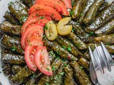 Vegetarian Stuffed Grape Leaves Recipe