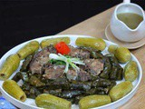 Yabraq/Dolma (Stuffed Vine Leaves) Recipe