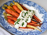 Za'atar Roasted Carrots