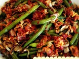 Green Beans with Shallots & Crispy Pancetta