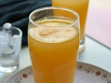 Orange gingerade - orange ginger juice