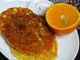 Orange Pancake And Orange Syrup Taste And Create