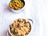 Soya chunks biryani recipe - easy biryani recipes